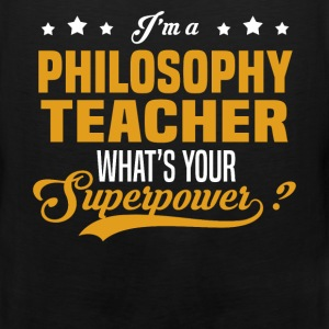 Philosophy Teacher - Men's Premium Tank