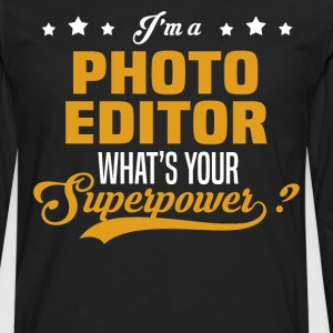 Photo Editor - Men's Premium Long Sleeve T-Shirt