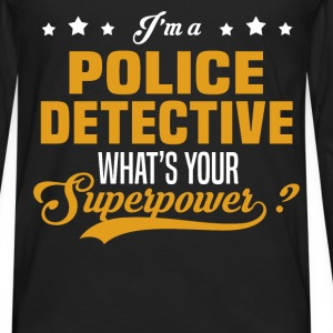 Police Detective T-Shirts - Men's Premium Long Sleeve T-Shirt