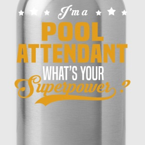 Pool Attendant T-Shirts - Water Bottle