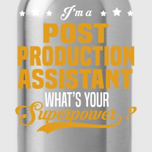 Post Production Assistant T-Shirts - Water Bottle