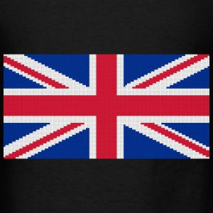Original cross-stitch design Union Jack Bags & backpacks - Men's T-Shirt