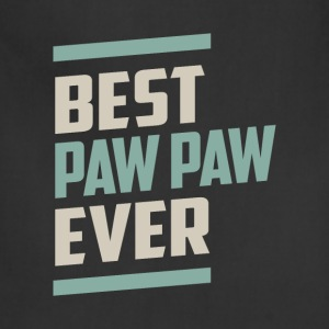 Best Paw Paw Ever T-shirt - Adjustable Apron