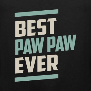 Best Paw Paw Ever T-shirt - Men's Premium Tank