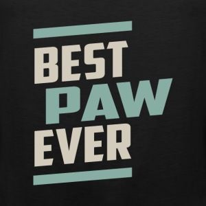 Best Paw Ever T-shirt - Men's Premium Tank