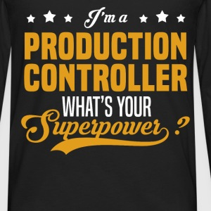 Production Controller - Men's Premium Long Sleeve T-Shirt