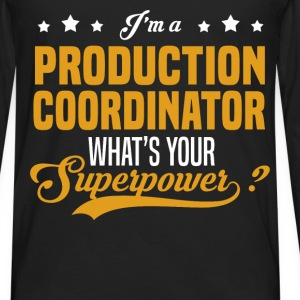 Production Coordinator - Men's Premium Long Sleeve T-Shirt