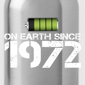 on earth since 1972 - Water Bottle
