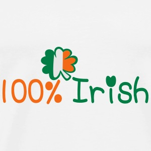 ♥ټ☘I'm 100%-Irish Power Bandana☘ټ - Men's Premium T-Shirt