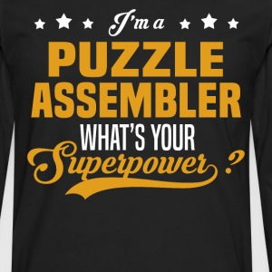 Puzzle Assembler - Men's Premium Long Sleeve T-Shirt