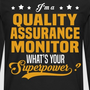 Quality Assurance Monitor - Men's Premium Long Sleeve T-Shirt
