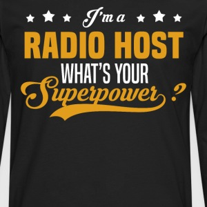 Radio Host - Men's Premium Long Sleeve T-Shirt