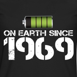 on earth since 1969 - Men's Premium Long Sleeve T-Shirt