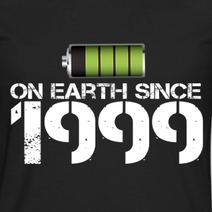 on earth since 1999 - Men's Premium Long Sleeve T-Shirt