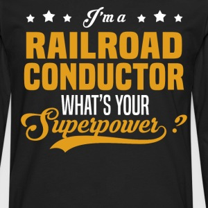 Railroad Conductor - Men's Premium Long Sleeve T-Shirt