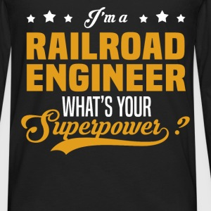 Railroad Engineer - Men's Premium Long Sleeve T-Shirt