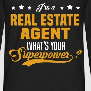 Real Estate Agent - Men's Premium Long Sleeve T-Shirt