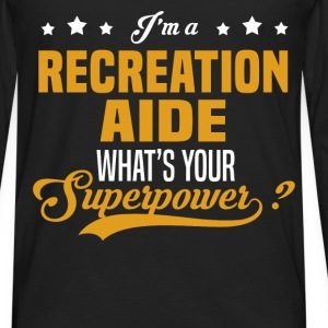 Recreation Aide - Men's Premium Long Sleeve T-Shirt