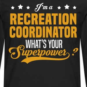 Recreation Coordinator - Men's Premium Long Sleeve T-Shirt