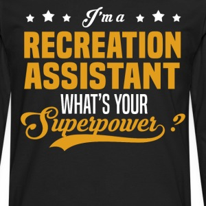 Recreation Assistant - Men's Premium Long Sleeve T-Shirt
