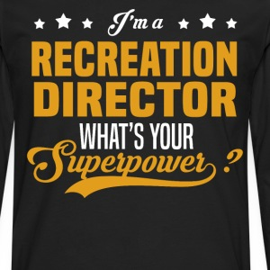 Recreation Director - Men's Premium Long Sleeve T-Shirt
