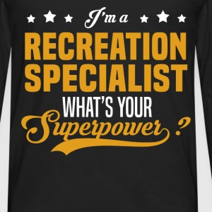 Recreation Specialist - Men's Premium Long Sleeve T-Shirt