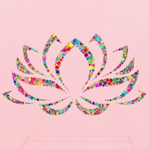 Colorful Lotus Flower Circles - Kids' Hoodie