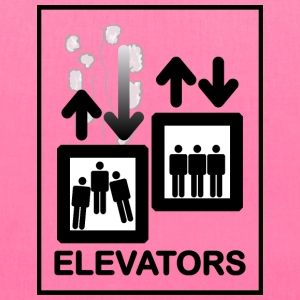 Elevator Sign - Tote Bag