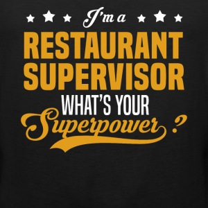 Restaurant Supervisor - Men's Premium Tank