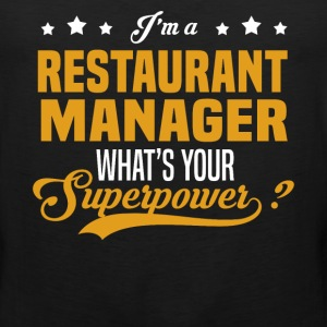 Restaurant Manager - Men's Premium Tank