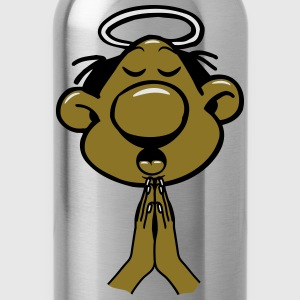 Head hands praying holy holy light T-Shirts - Water Bottle