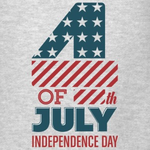 USA - 4th of July - Independence Day - July 4th Hoodies - Men's T-Shirt