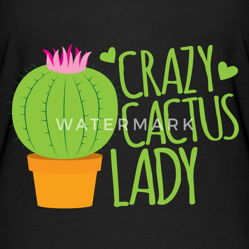 Crazy cactus lady  T-Shirts - Women's Flowy T-Shirt