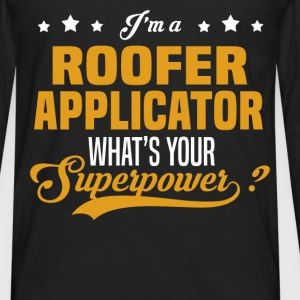 Roofer Applicator - Men's Premium Long Sleeve T-Shirt