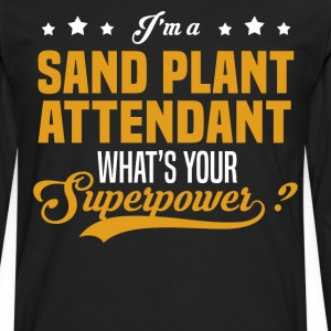 Sand Plant Attendant - Men's Premium Long Sleeve T-Shirt