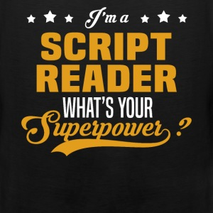 Script Reader - Men's Premium Tank