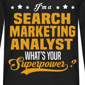 Search Marketing Analyst - Men's Premium Long Sleeve T-Shirt