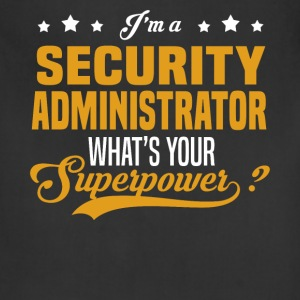 Security Administrator - Adjustable Apron