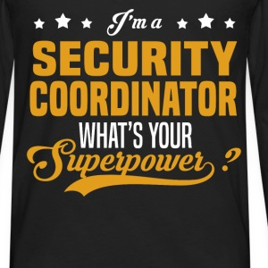 Security Coordinator - Men's Premium Long Sleeve T-Shirt
