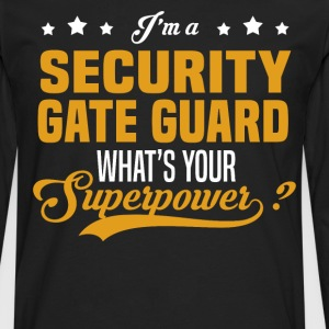 Security Gate Guard - Men's Premium Long Sleeve T-Shirt