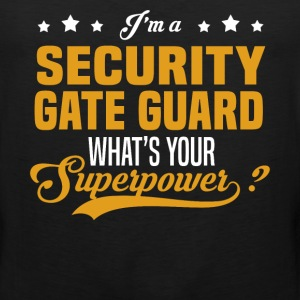 Security Gate Guard - Men's Premium Tank