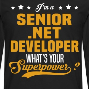 Senior .NET Developer - Men's Premium Long Sleeve T-Shirt