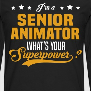 Senior Animator - Men's Premium Long Sleeve T-Shirt