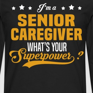 Senior Caregiver - Men's Premium Long Sleeve T-Shirt