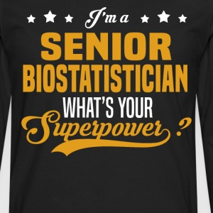 Senior Biostatistician - Men's Premium Long Sleeve T-Shirt