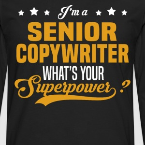 Senior Copywriter - Men's Premium Long Sleeve T-Shirt