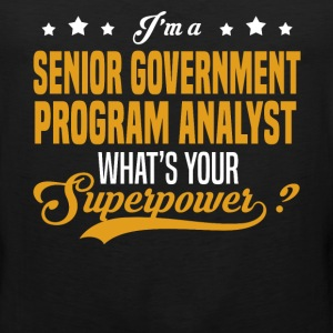 Senior Government Program Analyst - Men's Premium Tank