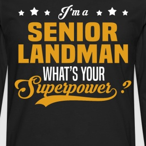 Senior Landman - Men's Premium Long Sleeve T-Shirt