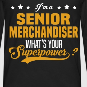 Senior Merchandiser - Men's Premium Long Sleeve T-Shirt