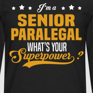 Senior Paralegal - Men's Premium Long Sleeve T-Shirt